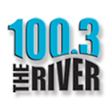 100.3 The River WQRV-Logo
