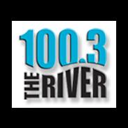 100.3 The River WQRV-Logo