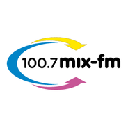 100.7 MIX FM-Logo
