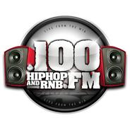 .100 Hip Hop and RNB FM-Logo