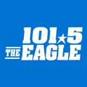 101.5 The Eagle KEGA-Logo