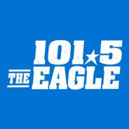 101.5 The Eagle KEGA-Logo