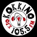 Sto Kokkino 105.5 FM-Logo