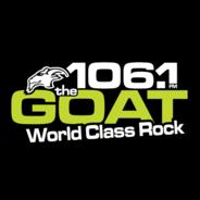 106.1 The Goat CKLM-Logo