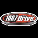 106.7 The Drive CFDV-FM-Logo