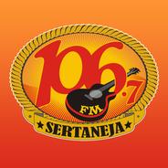 106 FM Sertaneja-Logo