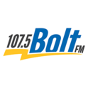 107.5 Bolt FM CHBO-Logo
