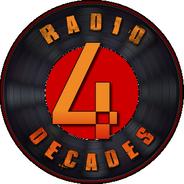 4 Decades Radio-Logo