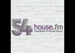 Internetradio-Tipp: 54house.fm-Logo