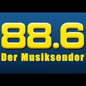 88.6 Der Musiksender Wien-Logo