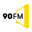 90 FM Ictimai Radio-Logo