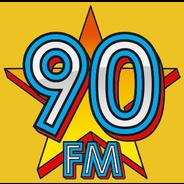 90 FM-Logo