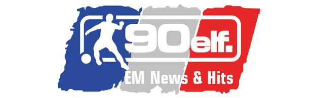 90elf ist für kurze Zeit mit News und Hits zur UEFA EM 2016 zurück