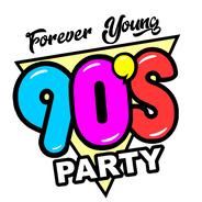 90's Party-Logo