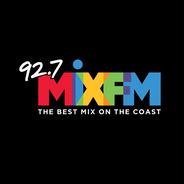 92.7 Mix FM-Logo