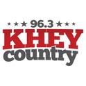 96.3 KHEY Country-Logo