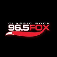 96.5 The Fox -Logo
