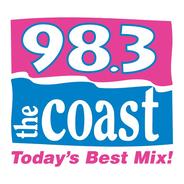 98.3 The Coast WCXT-Logo