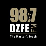 98.7 DZFE-Logo