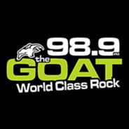 98.9 The Goat CFCP-FM-Logo