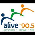 Alive 90.5-Logo