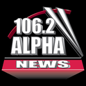 Alpha News 106.2-Logo