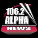 Alpha News 106.2-Logo