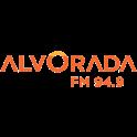 Alvorada FM 94.9-Logo