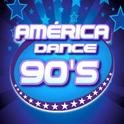 América Dance 90s-Logo