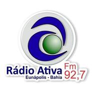 Ativa FM 92.7-Logo