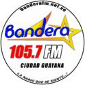 Bandera FM 105.7  -Logo