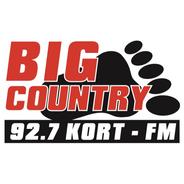 Big Country 92.7 KORT-Logo