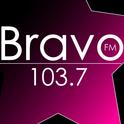 Bravo FM 103.7-Logo