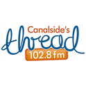 Canalside's The Thread 102.8FM-Logo