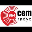 96.4 Cem Radyo-Logo