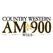 Country Western AM 900 WDLS-Logo
