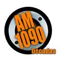 Décadas AM 1090 -Logo