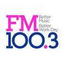 FM100.3 KSFI-Logo
