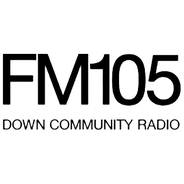 FM105 Down Community Radio-Logo