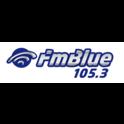 FM Blue 105.3-Logo
