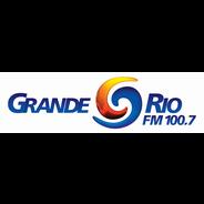 Grande Rio FM 100.7-Logo