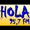 Hola FM 95.7-Logo