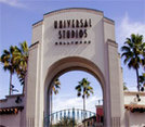 Eingangstor zu den Universal Studios in Hollywood