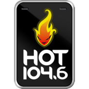 Hot FM 104.6-Logo