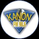 Kanon FM 98.6-Logo