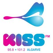 Kiss FM Algarve-Logo