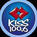 Kiss FM 100.6-Logo