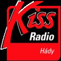 Kiss Hády 88,3 FM Brno-Logo