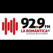La Romántica 92.9-Logo