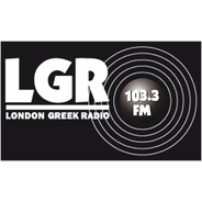 London Greek Radio 103.3 FM-Logo